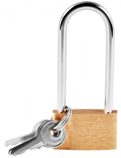 Schloss mit Schlüssel, 30 mm