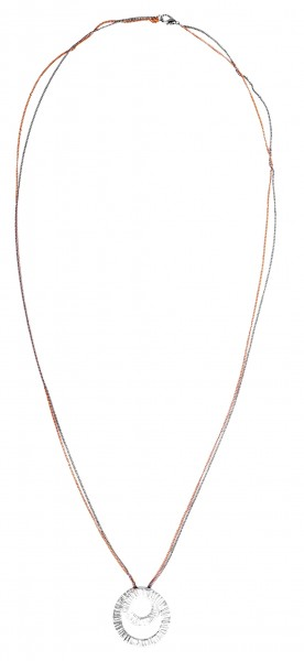 Metall Damen Ankerkette, Länge: 80 cm / Stärke: 2 mm