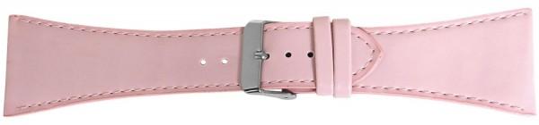 Lederimitatband, rosa, 32 mm, rosa Naht