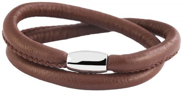 Cham Cham Echt-Leder Rundarmband, Länge 36 cm, Ø 6,7 mm