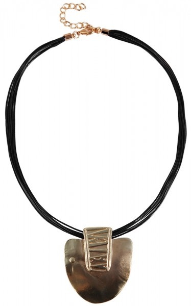 Textil Damen Halskette, Länge: 42 cm / Stärke: 5 mm