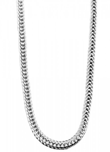 Akzent Edelstahl Damen Schlangenkette, Länge: 70 cm / Stärke: 2 mm