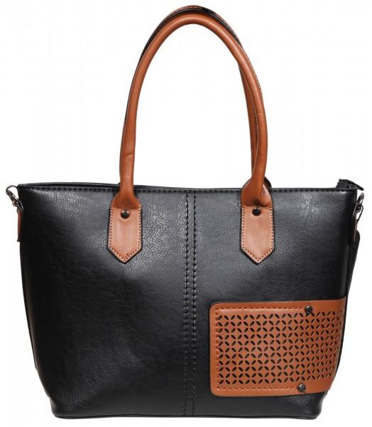 Damen Handtasche aus Lederimitat