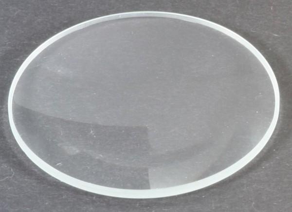 Mineralglas, flach - Durchmesser: 30 mm / Höhe: 1,5 mm