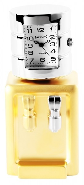 Tavolino Miniaturuhr - Getränkespender - Größe 7,6 cm
