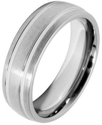 Akzent Damen-Ring aus Tungsten