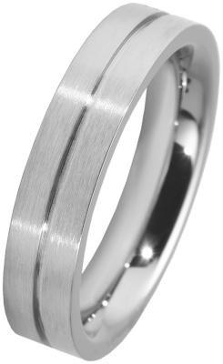 Unisex-Ring aus Edelstahl