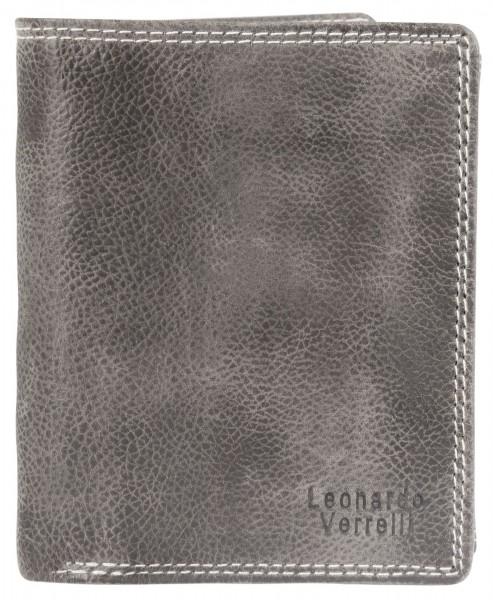 Leonardo Verrelli Herrengeldbörse aus Echt Leder