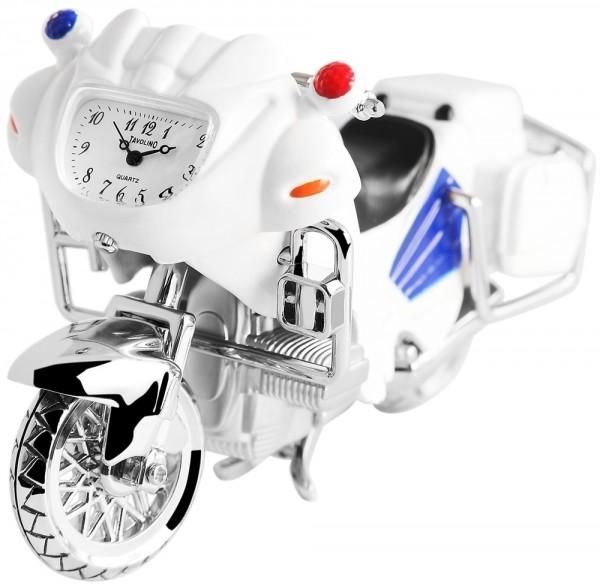 Tavolino Miniaturuhr - Motorrad - Größe 12,2 cm