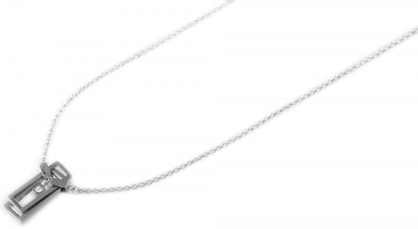 Akzent Edelstahl Damen Ankerkette, Länge: 50 cm / Stärke: 2 mm