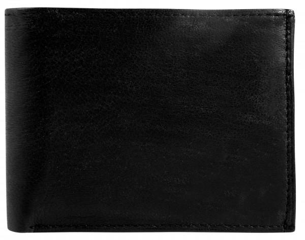SteinMeister Herren Geldbörse aus Echtleder. Format 12 x 9 cm.