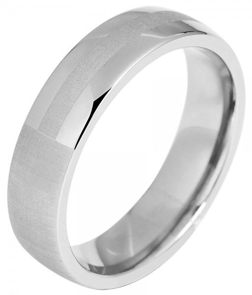 Akzent Partnerringe-Ring aus Titan