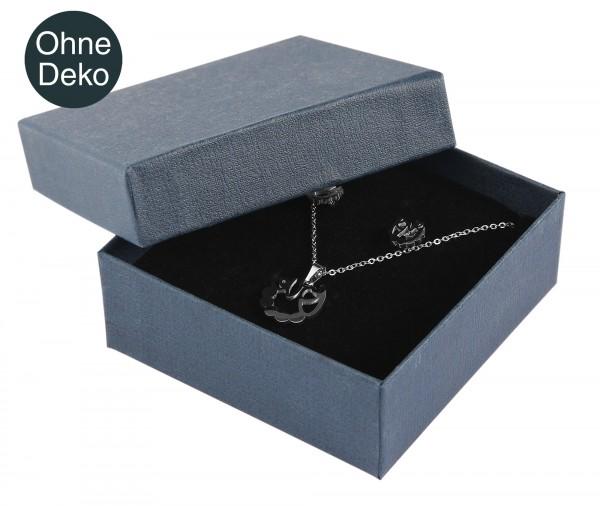 Schmuckbox, Pappe, VE 12, 9 cm x 9 cm x 3,5 cm