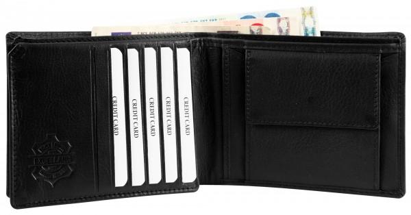 Excellanc Echt Leder Geldbörse, RFID