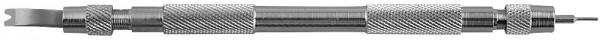 Federstegentfener für den Federstegaustausch: Länge 14,5 cm / Breite 0,7 cm