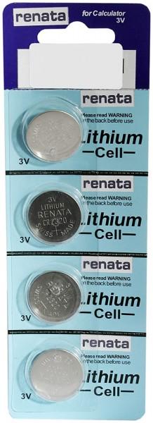 RENATA Lithium Cell 2320 (3 V ) 4er Pack