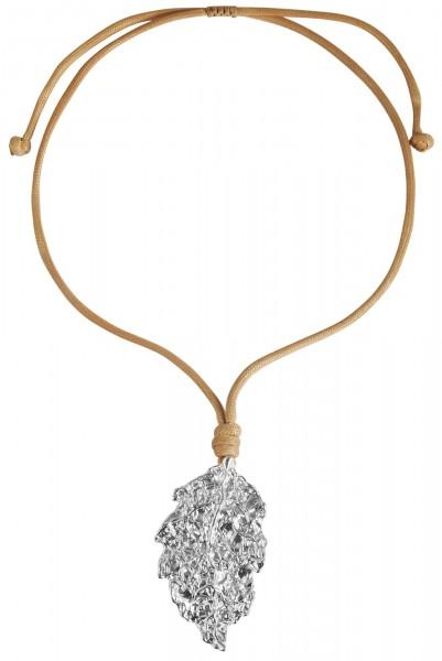 Cham Cham Textil Damen Halskette, Länge: 84 cm / Stärke: 4 mm