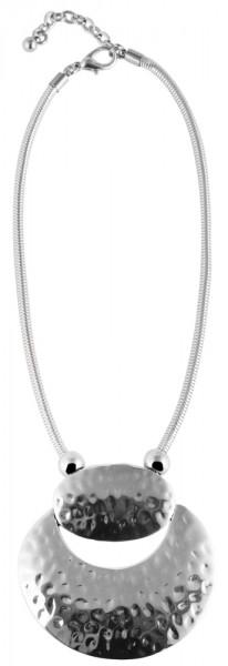 Akzent Metall Damen Schlangenkette, Länge: 40 cm / Stärke: 4 mm