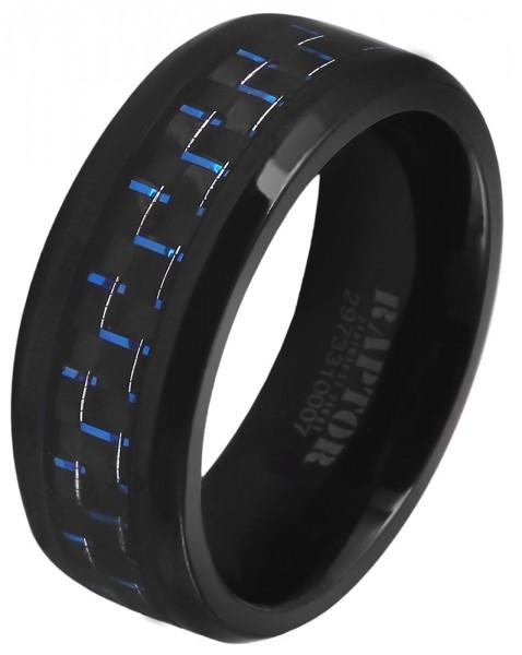 Unisex-Ring aus Carbon
