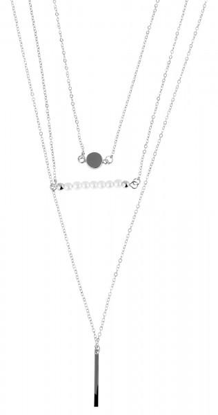 Cham Cham Metall Damen Ankerkette, Länge: 50 cm / Stärke: 2 mm