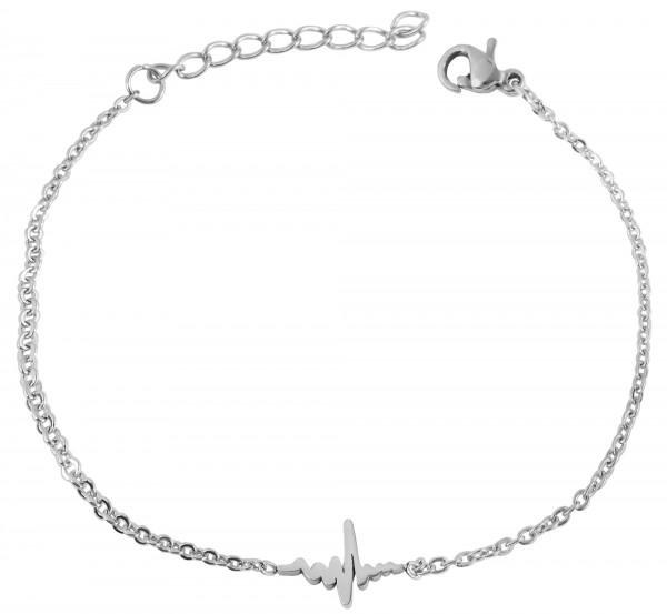 Akzent Edelstahl Armband, 16+4cm