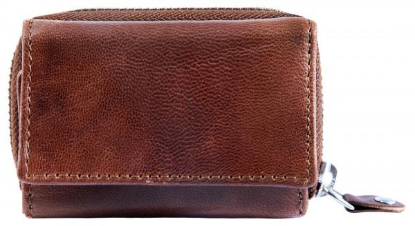 JUST Echt Leder Geldbörse, RFID, inkl. Box