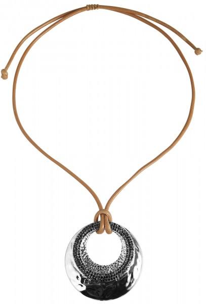 Cham Cham Textil Damen Halskette, Länge: 80 cm / Stärke: 4 mm