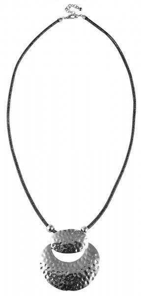 Cham Cham Metall Damen Schlangenkette, Länge: 80 cm / Stärke: 4 mm