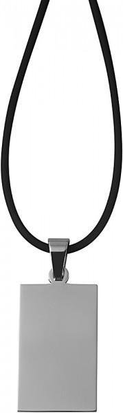 Akzent Kautschuk Unisex Kautschukkette, Länge: 50 cm / Stärke: 2 mm