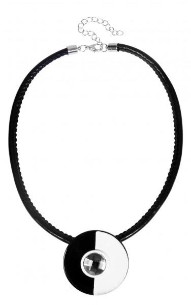 Kautschuk Unisex Kautschukkette, Länge: 40 cm / Stärke: 2 mm