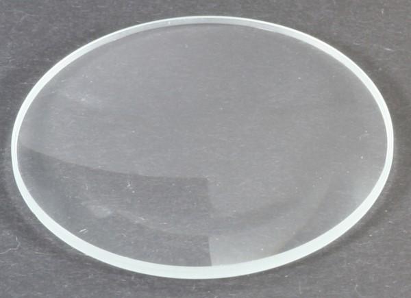 Mineralglas, flach - Durchmesser: 33mm / Höhe: 1 mm