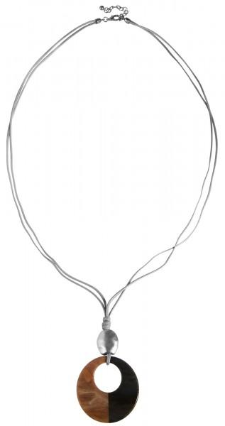 Cham Cham Textil Damen Halskette, Länge: 88 cm / Stärke: 4 mm