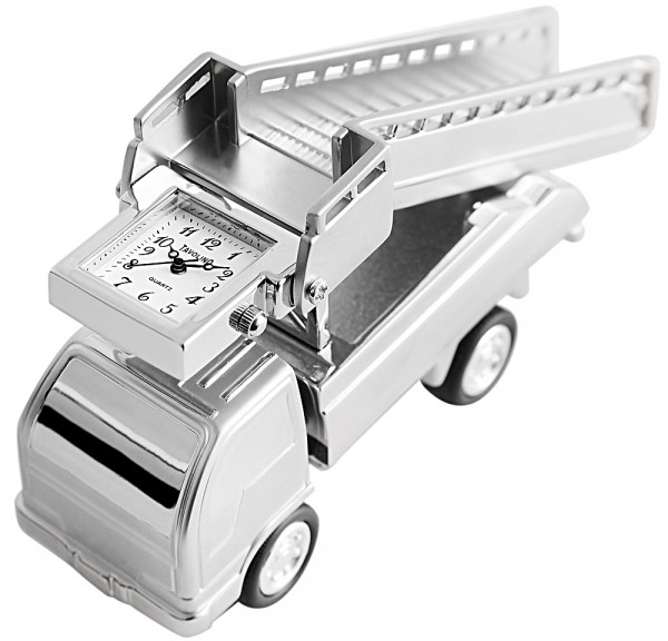 Tavolino Miniaturuhr - Treppenfahrzeug - Größe 10,5 cm