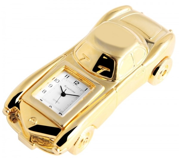 Royaltime Miniaturuhr - Auto - Größe 9,4 cm