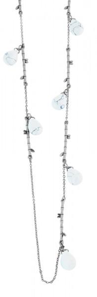 Metall Damen Figarokette, Länge: 92 cm / Stärke: 3 mm