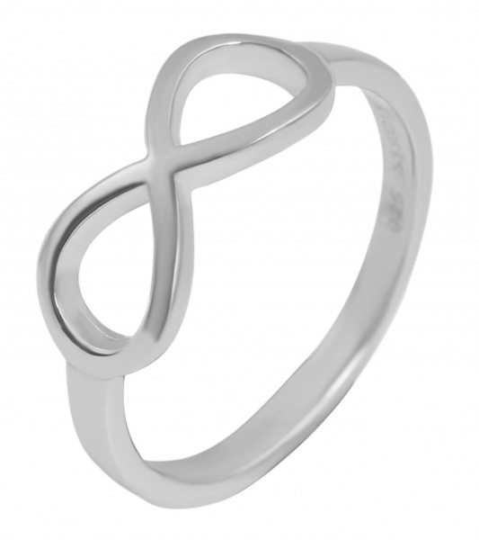 925 Silber Ring, 925/rhodiniert, 1,7g