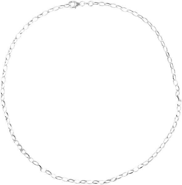 Akzent 925er Silber , Länge: 80 cm / Stärke: 0 mm