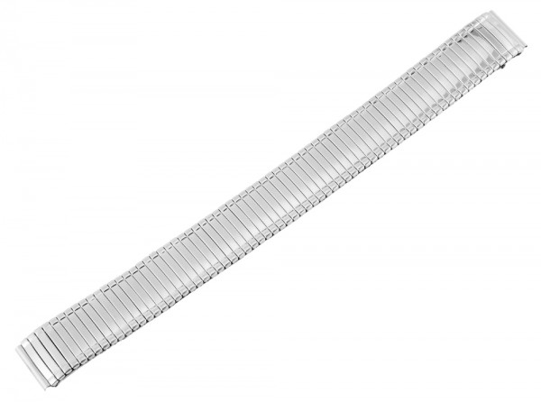 Zugband Metall Armband in silber, , , 16 mm