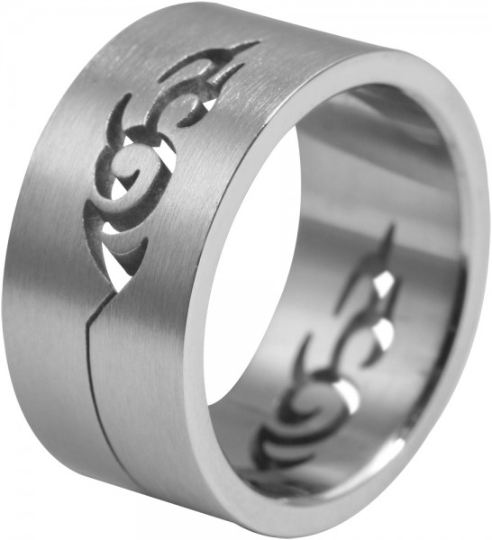 Unisex-Ring aus Edelstahl UVP 25,00 €