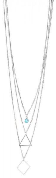 Metall Damen Ankerkette, Länge: 50 cm / Stärke: 4 mm