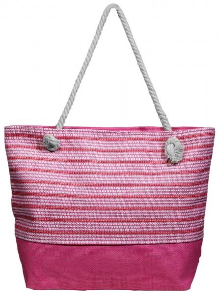 Damen Handtasche aus Textil, Maße: 51 x 36 x 14 cm