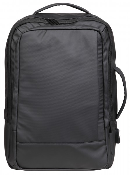 Businessrucksack mit Laptopfach und USB Ladeanschluss