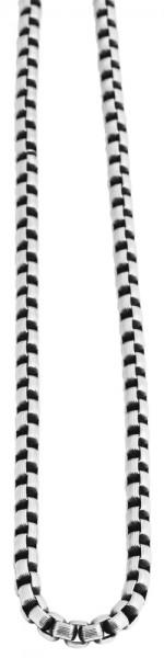 Akzent Edelstahl Unisex Erbskette, Länge: 60 cm / Stärke: 7 mm