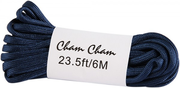 Cham Cham Bänder, 6 m, schwarz, VE 3