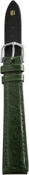 Pu-Lederband in grün , XL 18 mm