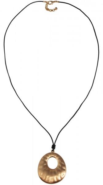 Cham Cham Lederimitat Damen Halskette, Länge: 84 cm / Stärke: 0 mm