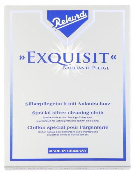 Exquisit Silberpflegetuch mit Anlaufschutz, 35 cm x 30 cm