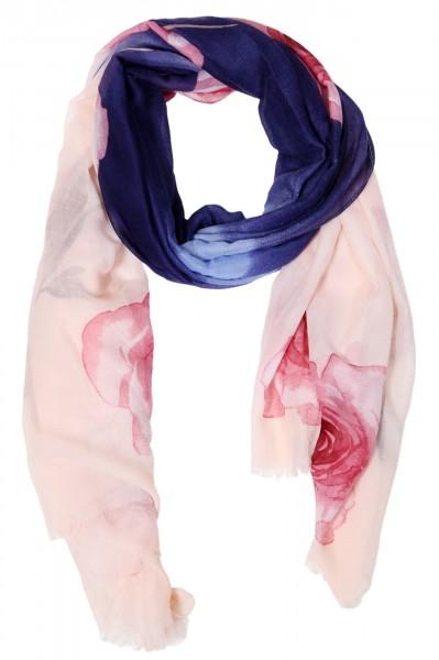 Damenschal aus 100% Polyester, Maße: 90 x 180 cm
