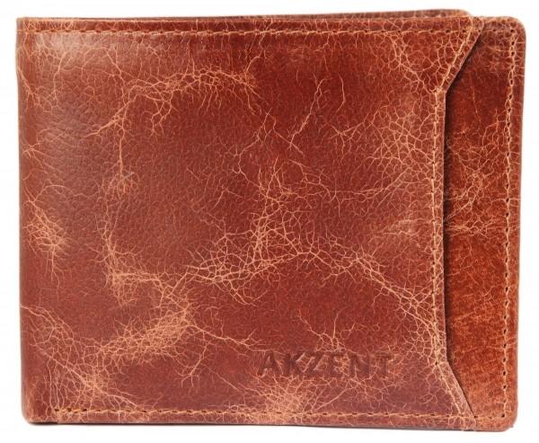 Akzent Herrengeldbörse aus Echt Leder, RFID