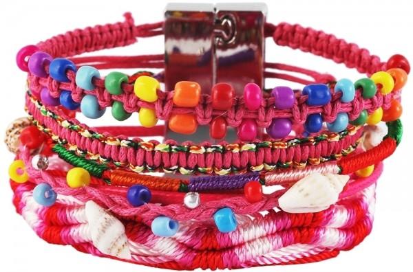 aus Textil in Mehrfarbig